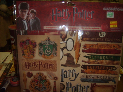 Free Harry Potter Scrapbook Kit Scrapbooking Paper Crafts