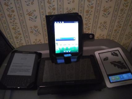 tablet and e-reader lot, android, kindle, nook, READ DESCRIPTION