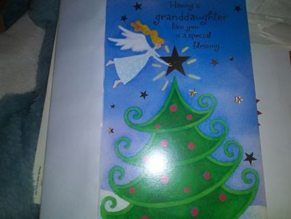 Christmas card for grand daughter Selling out all no refunds!