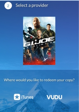 Digital copy of G.I. Joe Retaliation