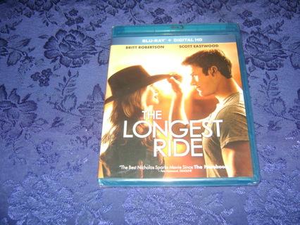 The Longest Ride Blu Ray + DVD Sealed Copy Scott Eastwood