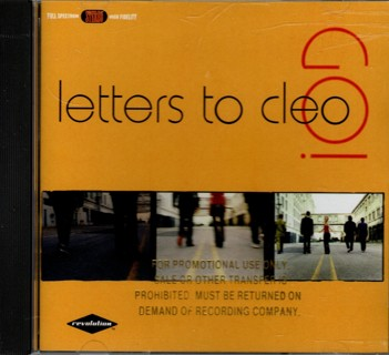 GO! - Promo CD by Letters to Cleo