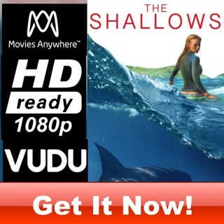 THE SHALLOWS HD MOVIES ANYWHERE OR VUDU CODE ONLY