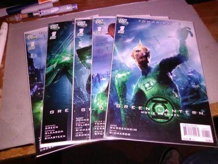 5 Green Lantern Movie Prequels