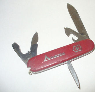Free Vintage Victorinox Switzerland Camping Officer Suisse Swiss Army Knife Old Cool Other Collectibles Listia Com Auctions For Free Stuff
