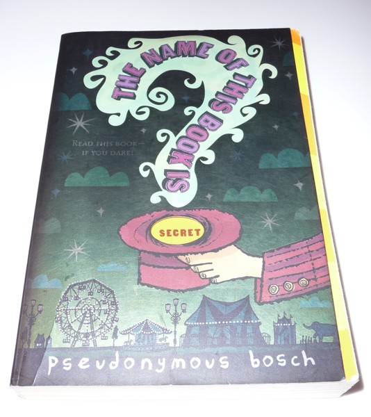 write this book pseudonymous bosch Pseudonymous bosch, the author and narrator, is one of the most important characters in the book, and one an inventory and write a paragraph about what their.