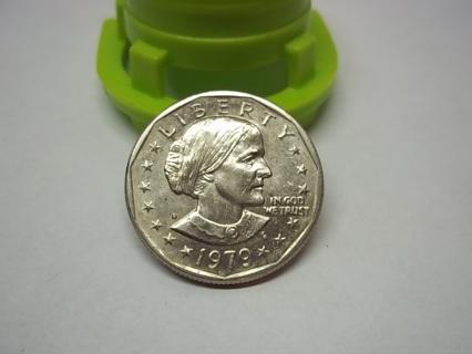 1979-D S.B.A. DOLLAR COIN, VERY NICE!