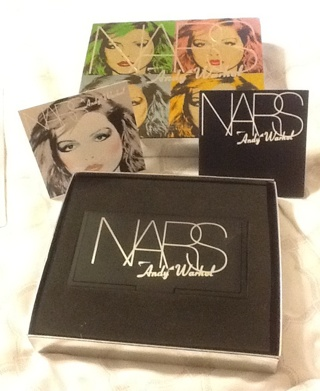 Brand New Andy Warhol Nars Debbie Harry Eye & Cheek Palette Limited Edition