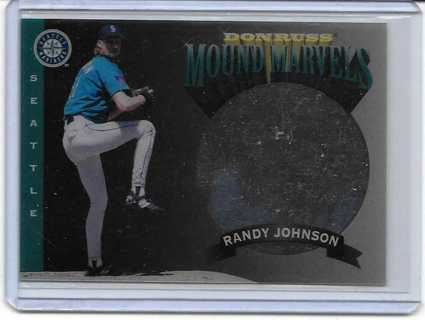 Randy Johnson 1995 Donruss Mound Marvels #7