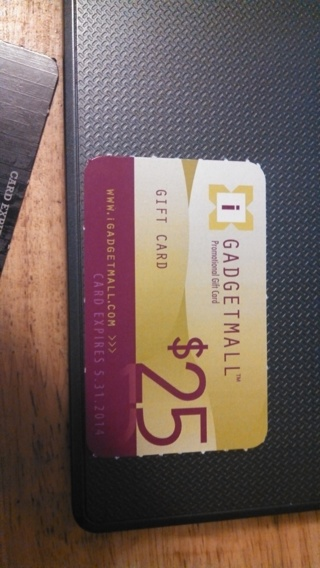$25 Gift Card for Gadget Mall