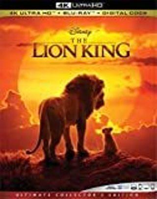 Disney's The Lion King (4K) Untouched Digital Code