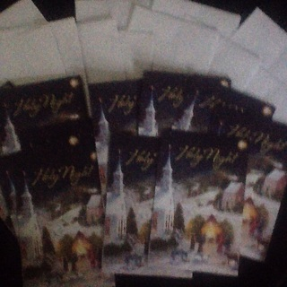 12 Christmas cards and envelopes BRAND NEW
