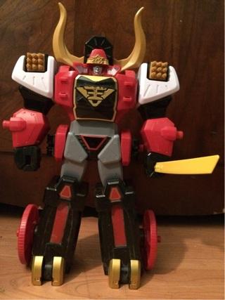 power ranger bull zord