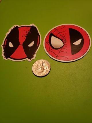 Marvel Spider-Man Deadpool Logo Variant Vinyl Decal Laptop Skateboard Scrapbook Crafts
