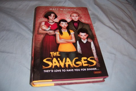 The Savages by Matt Whyman, they would love to have you for dinner!