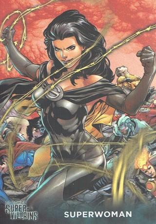 DC Comics Super Villains Collectible Card Superwoman #22