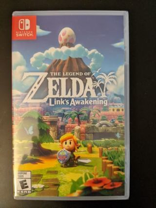 The legend of Zelda Link's awakening Nintendo switch game brand new sealed