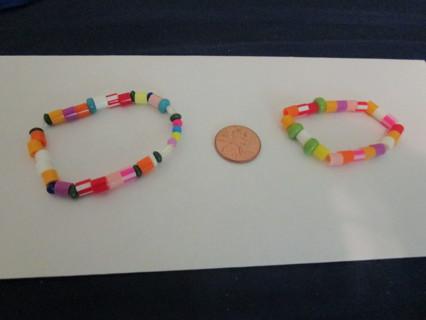 (2) 2-4 yr old bracelets