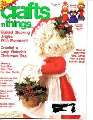 CRAFTS N' THINGS Magazine - Nov 1990