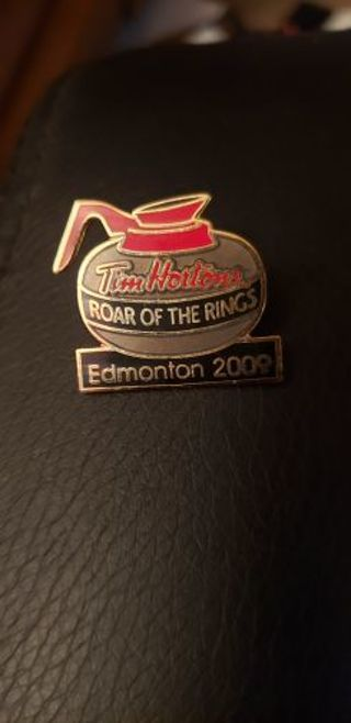 Tim Hortons Roar of the Rings pin