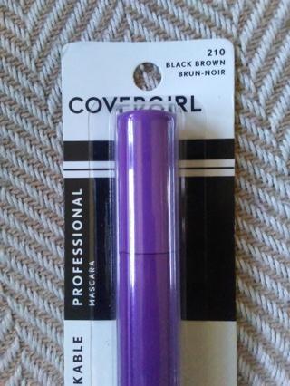 new covergirl professional mascara #210