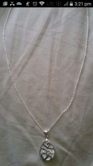925 Stamped Necklace