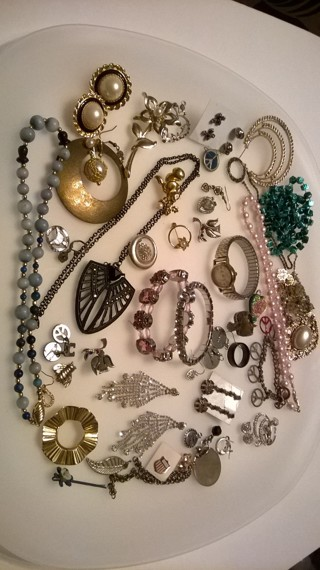 Lot of Jewelry for Crafting and Wear
