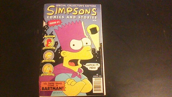 Simpsons comic book