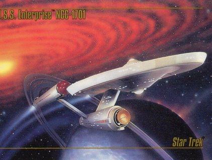 1993 Star Trek Collectible/Trade Card: U.S.S. Enterprise NCC-1701