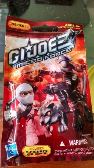 Brand new GI Joe micro force figures series 1