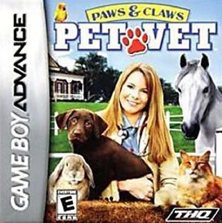 Pet Vet GBA Game