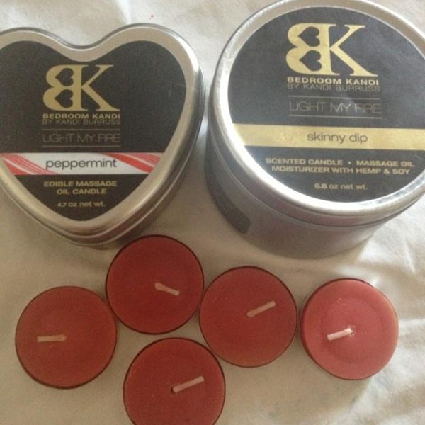 Free Bedroom Kandi Massage Oil Candle Samples Skincare