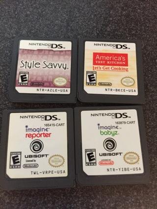 Nintendo DS games 4!