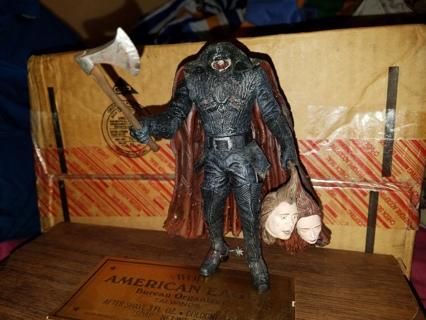 Mcfarlane Toys Sleepy Hollow The Headless Horseman Figure Loose Complete