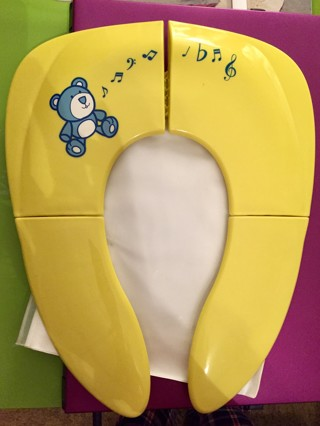New Fold-able, Portable Toilet Seat For Toddlers Or Children