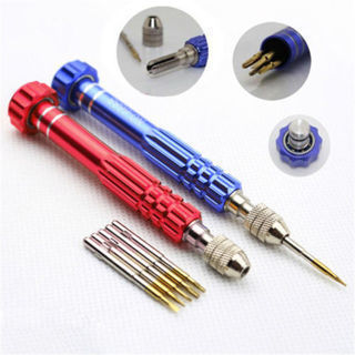 5 in 1 Repair Opening Tool Magnetic Screwdriver Kit
