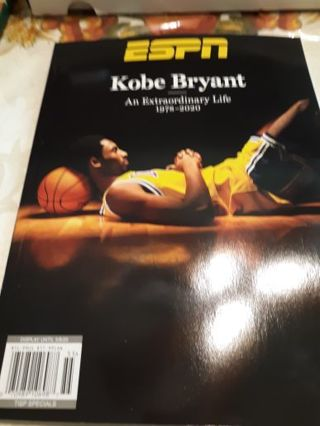 ESPN Kobe Bryant Tribute Issue
