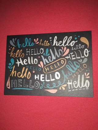 Notecards - Hello