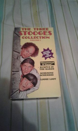 The Three Stooges Volume 1 VHS
