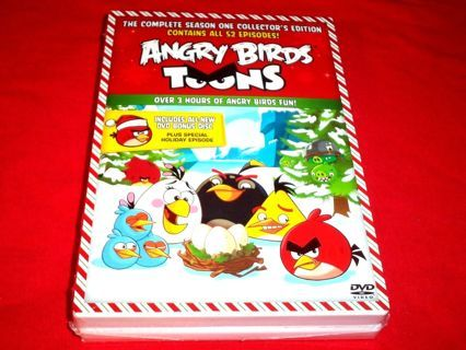 angry birds toons dvd season 1 52 episodes christmas special bonus dvd - Christmas Angry Birds