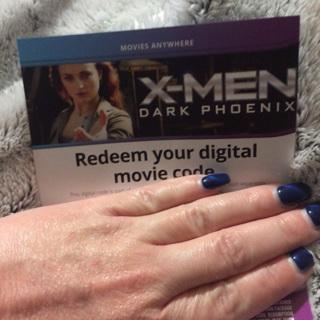 Xmen dark phoenix digital code