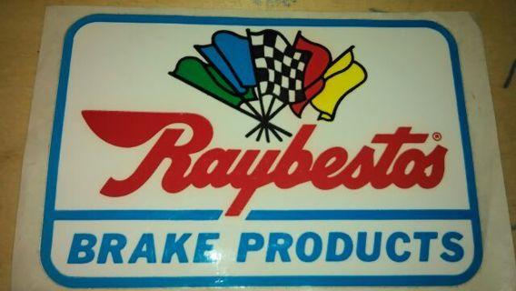 Vintage Raybestos Brake Products Sticker