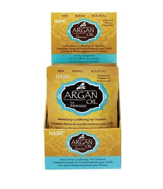 2 Hask Argan Oil Hair Treatment From Morocco Repairing Deep Conditioner with Keratin 1.75oz-New