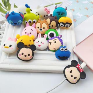 Cartoon Protector Cable Cord Saver Cover Coque For iPhone 8 Plus 4 4S 5 5S SE 5C 6 6S 7 X Xs Max X