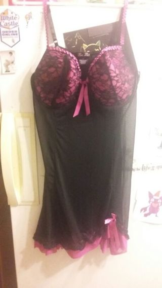 Sexy Pink and Black nighty