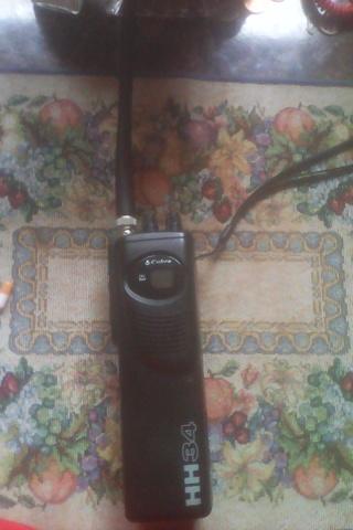 Cobra hh34 handheld cb radio