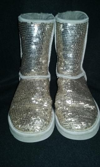 Ugg Australia Classic Short Sparkles Women's Boots ~ Free Shipping!