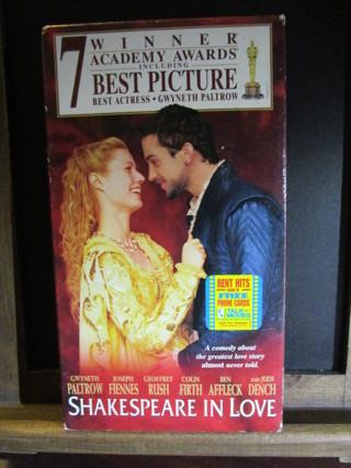 Shakespears In Love - VHS