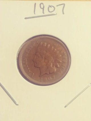 1907 Indian Head Penny! 379