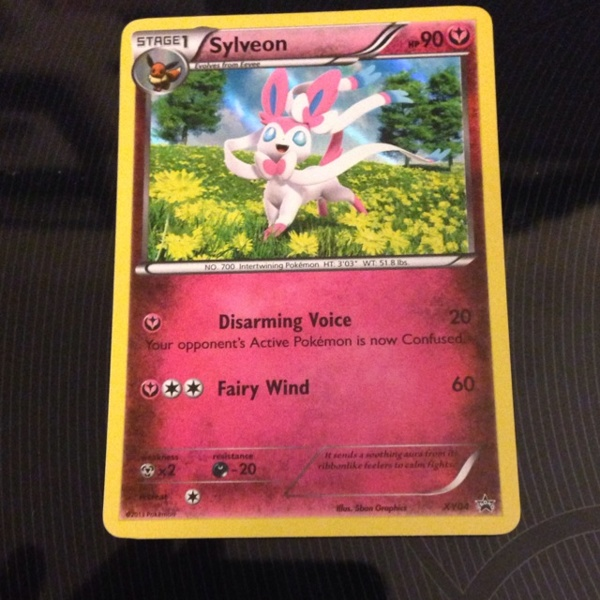 Pokemon Eevee Sylveon Card original.jpg?13...